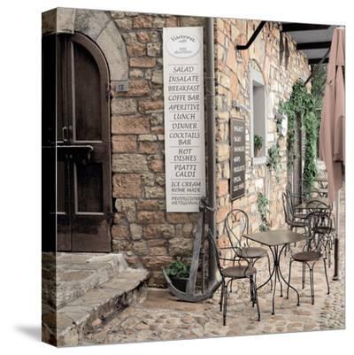 Varenna Caffe#1-Alan Blaustein-Stretched Canvas Print