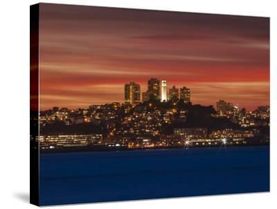 San Francisco, California-Joe Azure-Stretched Canvas Print