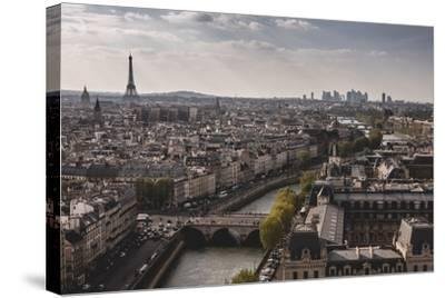 View Of Paris From Notre Dame-Lindsay Daniels-Stretched Canvas Print