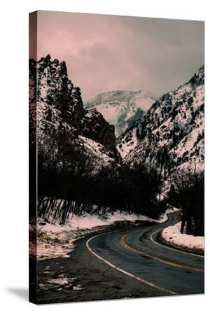 Millcreek Canyon Road-Lindsay Daniels-Stretched Canvas Print