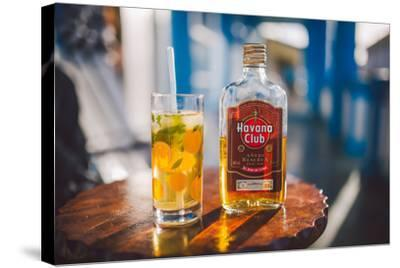Two Symbols Of Cuba, A Mojito And Havana Club Rum-Erik Kruthoff-Stretched Canvas Print
