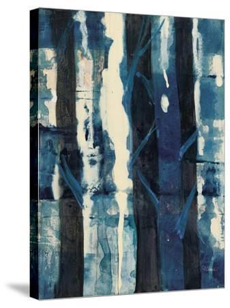Deep Woods II Indigo-Albena Hristova-Stretched Canvas Print