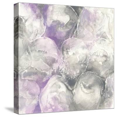Amethyst Circles II-Chris Paschke-Stretched Canvas Print