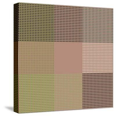 All Squared Away-Ruth Palmer-Stretched Canvas Print