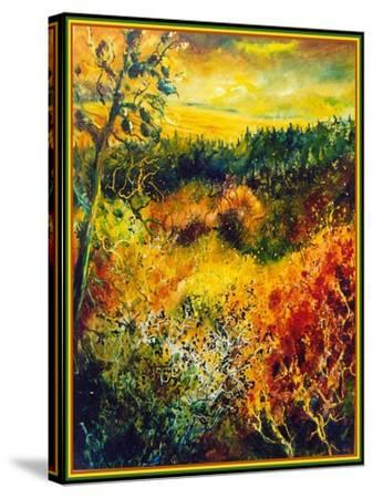 Autumn Landscape Albole-Pol Ledent-Stretched Canvas Print
