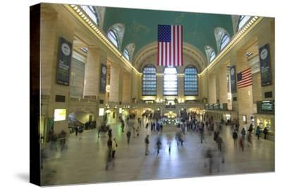 Grand Central Station-John Gusky-Stretched Canvas Print