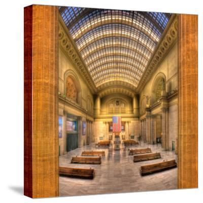 Chicagos Union Station-Steve Gadomski-Stretched Canvas Print