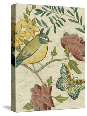 Antique Aviary I-Chariklia Zarris-Stretched Canvas Print