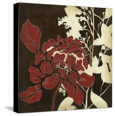Linen & Silhouettes I-Jennifer Goldberger-Stretched Canvas Print