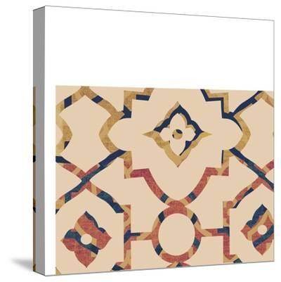 Morocco Tile I-Ricki Mountain-Stretched Canvas Print
