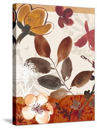 Modern Flowers I-Marietta Cohen-Stretched Canvas Print