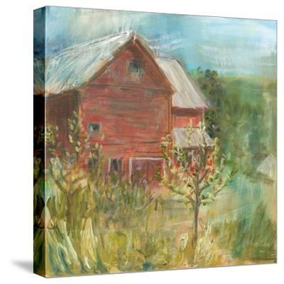 Barn Orchard-Sue Schlabach-Stretched Canvas Print