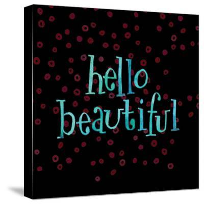 Hello Beautiful-Robbin Rawlings-Stretched Canvas Print