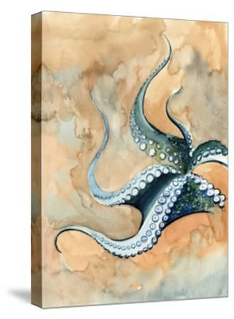 Octopus Abstract-Sophia Rodionov-Stretched Canvas Print