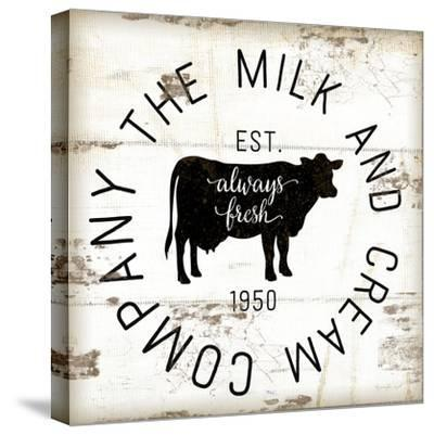 Milk and Cream Company-Jennifer Pugh-Stretched Canvas Print