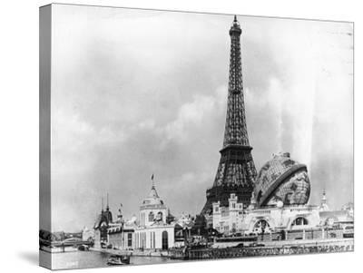Paris Exhibition-London Stereoscopic Company-Stretched Canvas Print