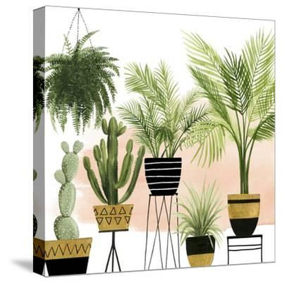 Indoor Oasis II-Grace Popp-Stretched Canvas Print