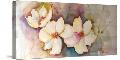Horizontal Flores VII-Leticia Herrera-Stretched Canvas Print