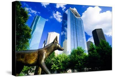 Heritage Park, Houston, Texas--Stretched Canvas Print