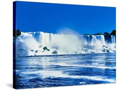 American Falls, Niagara River, New York State, USA--Stretched Canvas Print