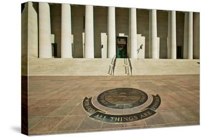 State Capitol of Ohio, Columbus--Stretched Canvas Print