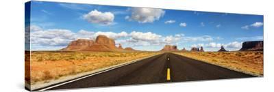 Road, Monument Valley, Arizona, USA--Stretched Canvas Print