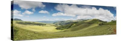 Rolling hills of the Wolkberg Conservancy, Tzaneen, Limpopo Province, South Africa--Stretched Canvas Print