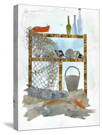 Sea Shelf 1-Brenna Harvey-Stretched Canvas Print