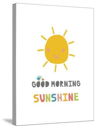 Good Morning Sunshine-Kindred Sol Collective-Stretched Canvas Print