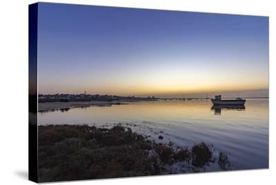Dawn Seascape of Ria Formosa Wetlands Natural Park, Shot in Cavacos Beach. Algarve. Portugal-Carlos Neto-Stretched Canvas Print