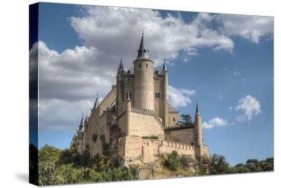 Alcazar, Segovia, UNESCO World Heritage Site, Castile y Leon, Spain, Europe-Richard Maschmeyer-Stretched Canvas Print
