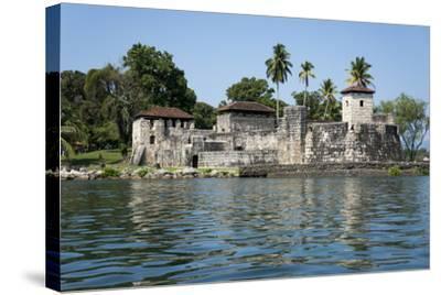 Fort San Felipe de Lara, Rio Dulce, Guatemala, Central America-Peter Groenendijk-Stretched Canvas Print