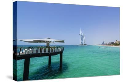 Burj Al Arab, Jumeirah Beach, Dubai, United Arab Emirates, Middle East-Fraser Hall-Stretched Canvas Print
