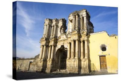 El Carmen ruin, Antigua, UNESCO World Heritage Site, Guatemala, Central America-Peter Groenendijk-Stretched Canvas Print