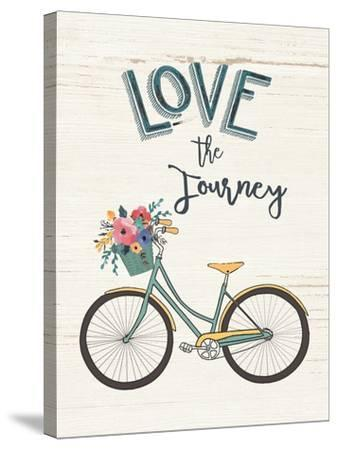 Love the Journey-Jo Moulton-Stretched Canvas Print