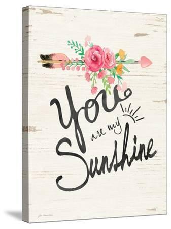 Sunshine-Jo Moulton-Stretched Canvas Print