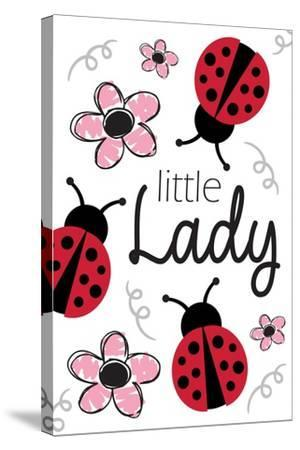 Little Lady-ND Art-Stretched Canvas Print
