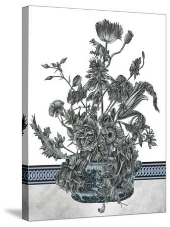 Bouquet in China I--Stretched Canvas Print