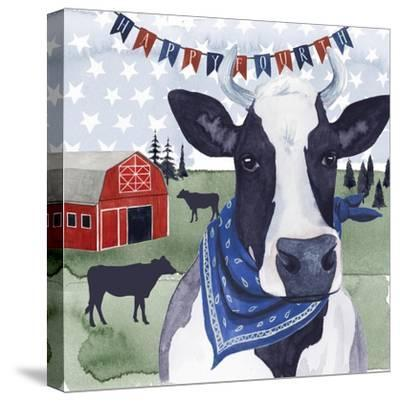 American Herd  II--Stretched Canvas Print