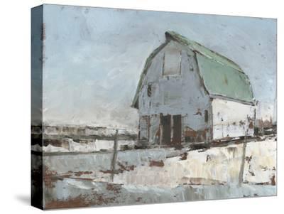Plein Air Barn I--Stretched Canvas Print