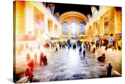 Manhattan Shine - Grand Central Terminal-Philippe Hugonnard-Stretched Canvas Print