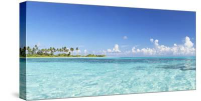 Dream Island at Olhuveli Beach and Spa Resort, South Male Atoll, Kaafu Atoll, Maldives (PR)-Ian Trower-Stretched Canvas Print