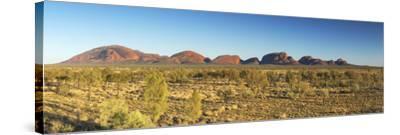 Kata Tjuta / The Olgas (UNESCO World Heritage Site), Uluru-Kata Tjuta National Park, Northern Terri-Ian Trower-Stretched Canvas Print