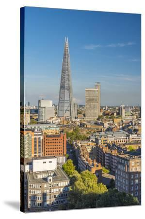UK, England, London, The Shard-Alan Copson-Stretched Canvas Print