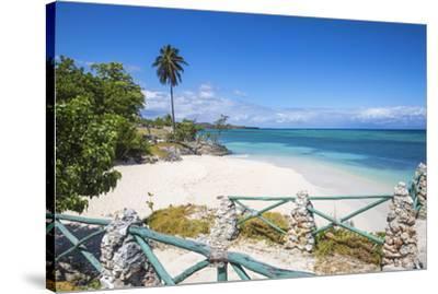 Cuba, Holguin Province, Playa Guardalvaca-Jane Sweeney-Stretched Canvas Print