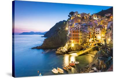 Manarola, Cinque Terre, Liguria, Italy-Jordan Banks-Stretched Canvas Print