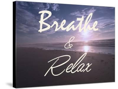 Breathe And Relax-Marcus Prime-Stretched Canvas Print