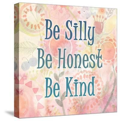 Be Silly-Kimberly Allen-Stretched Canvas Print