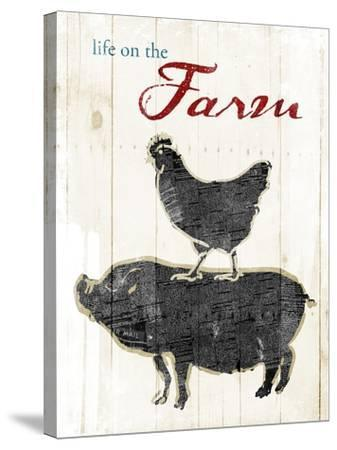 Life On The Farm-OnRei-Stretched Canvas Print