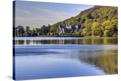 Kylemore Abbey, Connemara, County Galway, Connacht, Republic of Ireland, Europe-Carsten Krieger-Stretched Canvas Print